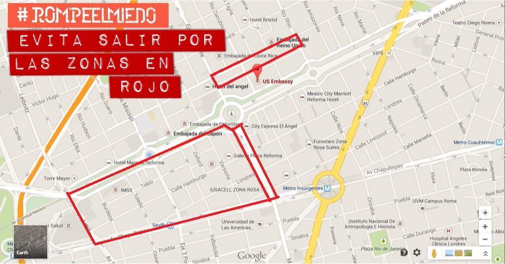 Eviten estas zonas en Reforma por favor http://t.co/PxjV4fBUsW