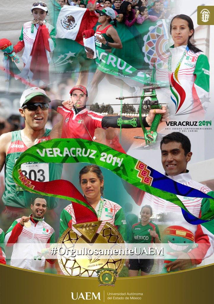 Histórica participación de deportistas de la UAEM en Centroamericanos: 8 preseas en total http://t.co/QUl4lRtn3F http://t.co/X8Sgw6EKcW