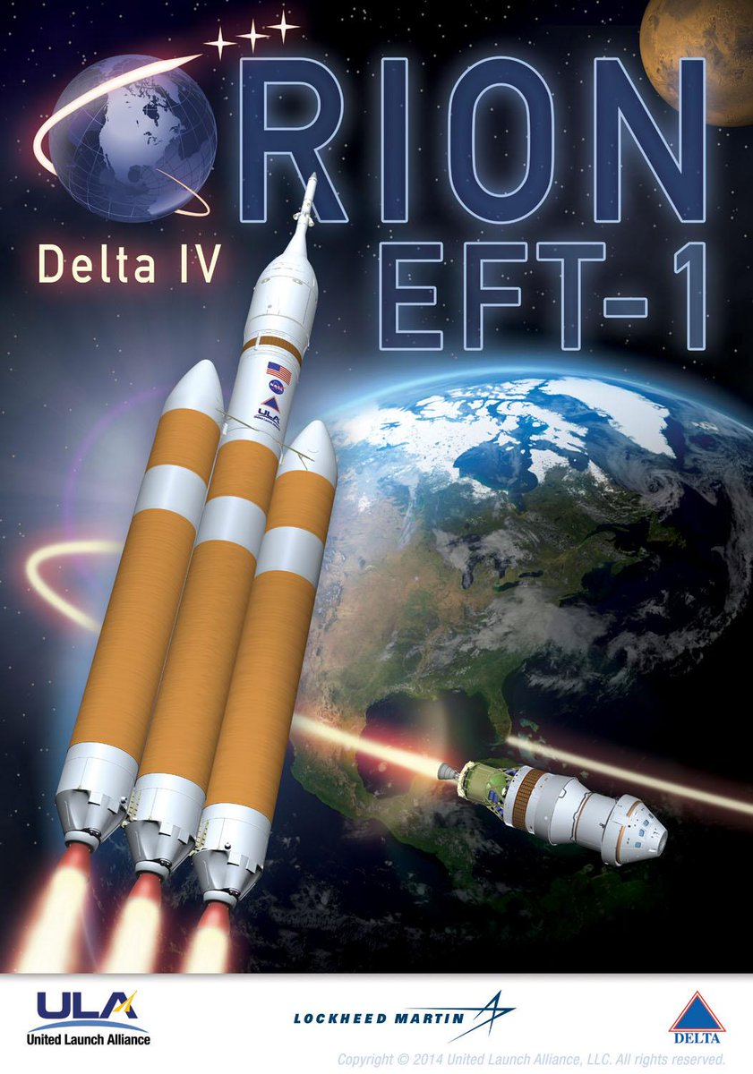 Checking out the #DeltaIVHeavy #EFT1 Mission Brochure via @ulalaunch #orion http://t.co/Dx2BFaJdFV http://t.co/CJSN7lZ7xf