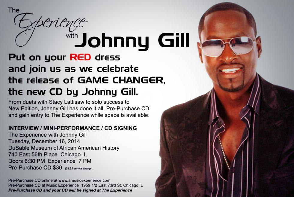 Get ready Chicago... #ThePrez is coming! The Experience w/ @realjohnnygill Dec 16th!  http://t.co/2qo7sVxqCw http://t.co/X2ntbCUU4s