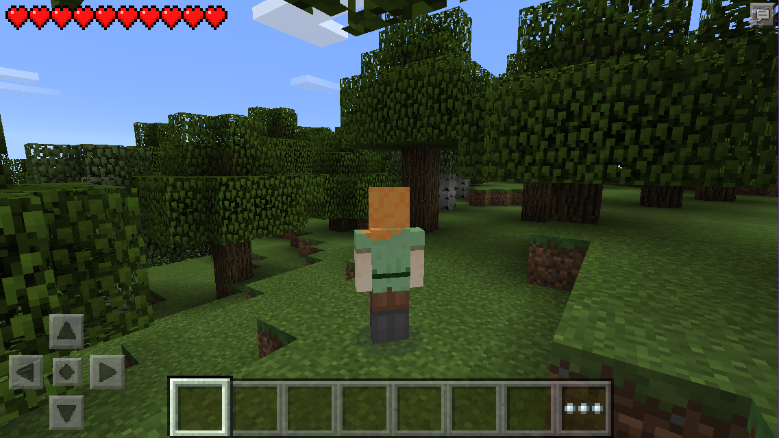 And we are still working on skins. How I currently look in MCPE 0.11.0: :) http://t.co/shZHMWSUyp