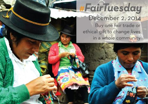 It's #FairTuesday, an ethical shopping movement in response to Black Friday & Cyber Monday! http://t.co/nsWdmoLq31 http://t.co/fkZWhqDDsX