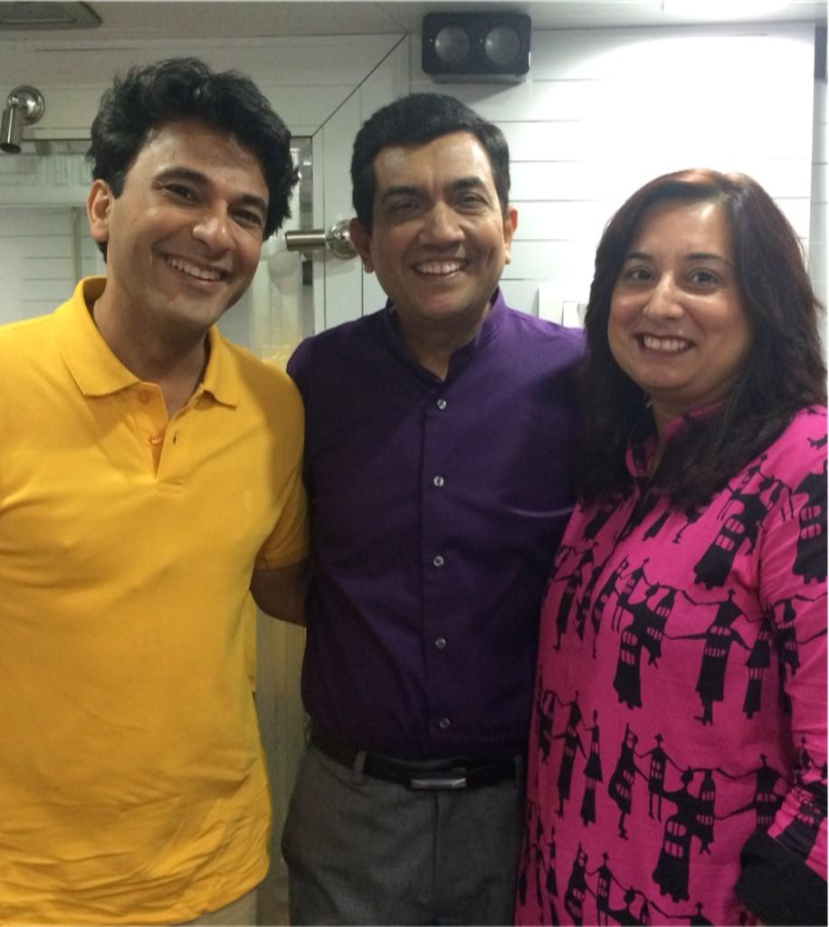 Love these two.. Judges of Masterchef India. It's gonna be a great season!! @TheVikasKhanna and @SanjeevKapoor http://t.co/6izAhA0m4n