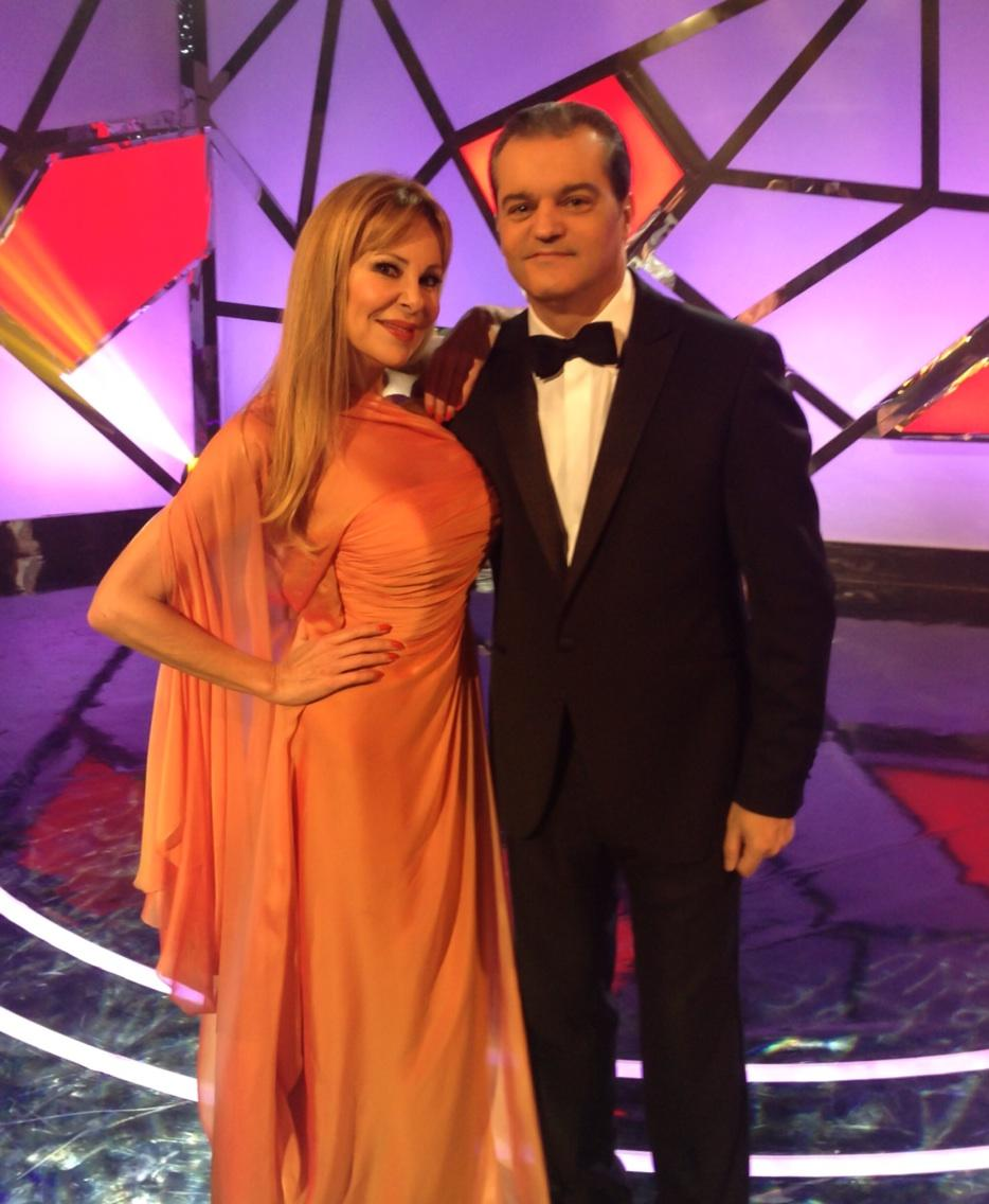 Grabando con mi querido Ramontxu El programa de noche buena de TVE #Parte de tu vida!! http://t.co/kiZZTKmhG9