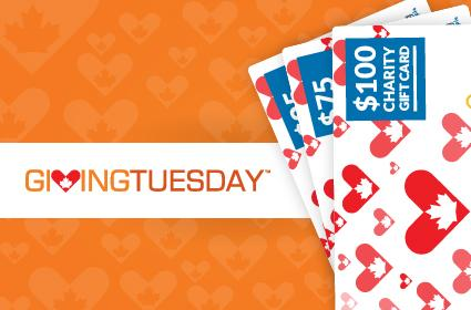Today is #GivingTuesdayCA! Give the Gift of Giving with Charity Gift Cards! http://t.co/1WRNk8WgBI #GivingMadeSimple http://t.co/9FGCsXgcov