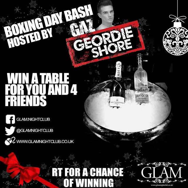 COMPETITION TIME  Boxing Day we're joined by @GazGShore! RETWEET to be with a chance of winning our giveaway! http://t.co/9xIRrgLZTT