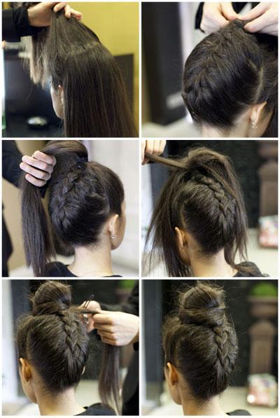 Aprender a hacer peinados con trenzas