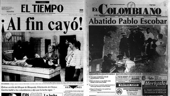 Especial as registraron medios nacionales la muerte de - Pablo escobar zitate deutsch ...