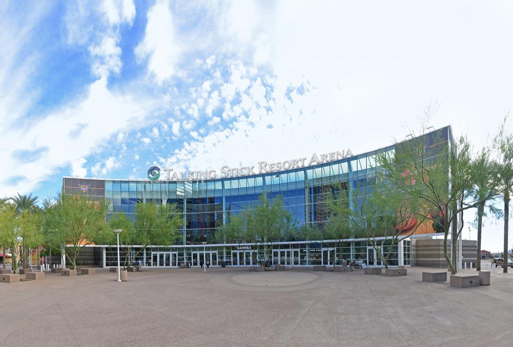 An artist's rendering of the soon-to-be named Talking Stick Resort Arena. http://t.co/owEuYeyWLA