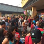Part of the crowd at #melemurals Keauhou unveiling. Super mahalo to everyone that came out to support the haumana...