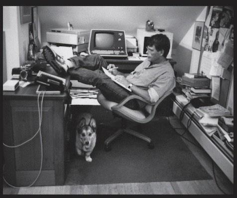 """When you rewrite, your job is taking out all the things that are not the story"" –@StephenKing http://t.co/bLPtDOSLFc http://t.co/6s2x4AT851"