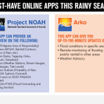 RT @DepEd_PH: Download PAGASA's online apps to get the latest advisories on rain & storm surge situation http://t.co/4MmV4wiidP http://t.co…