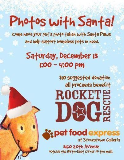 Have your pet's picture taken with Santa Paws and help #homelesspets in need! Sat. Dec. 13 @petfoodexpress SF 1-4pm http://t.co/tRCTfTufUZ