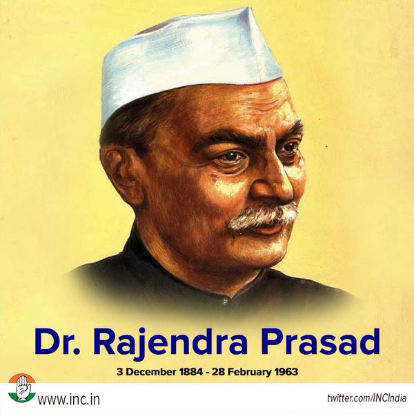 dr rajendra prasad The answer to the question as to who was the first president of india is simple, dr rajendra prasad and he was not merely the first president of india, but also the longest serving one in the history.