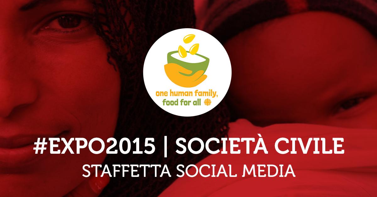 Staffetta Società Civile: anche oggi segui sui Social @caritas_milano e scopri le sue iniziative per #Expo2015 http://t.co/04VaO6pWYR