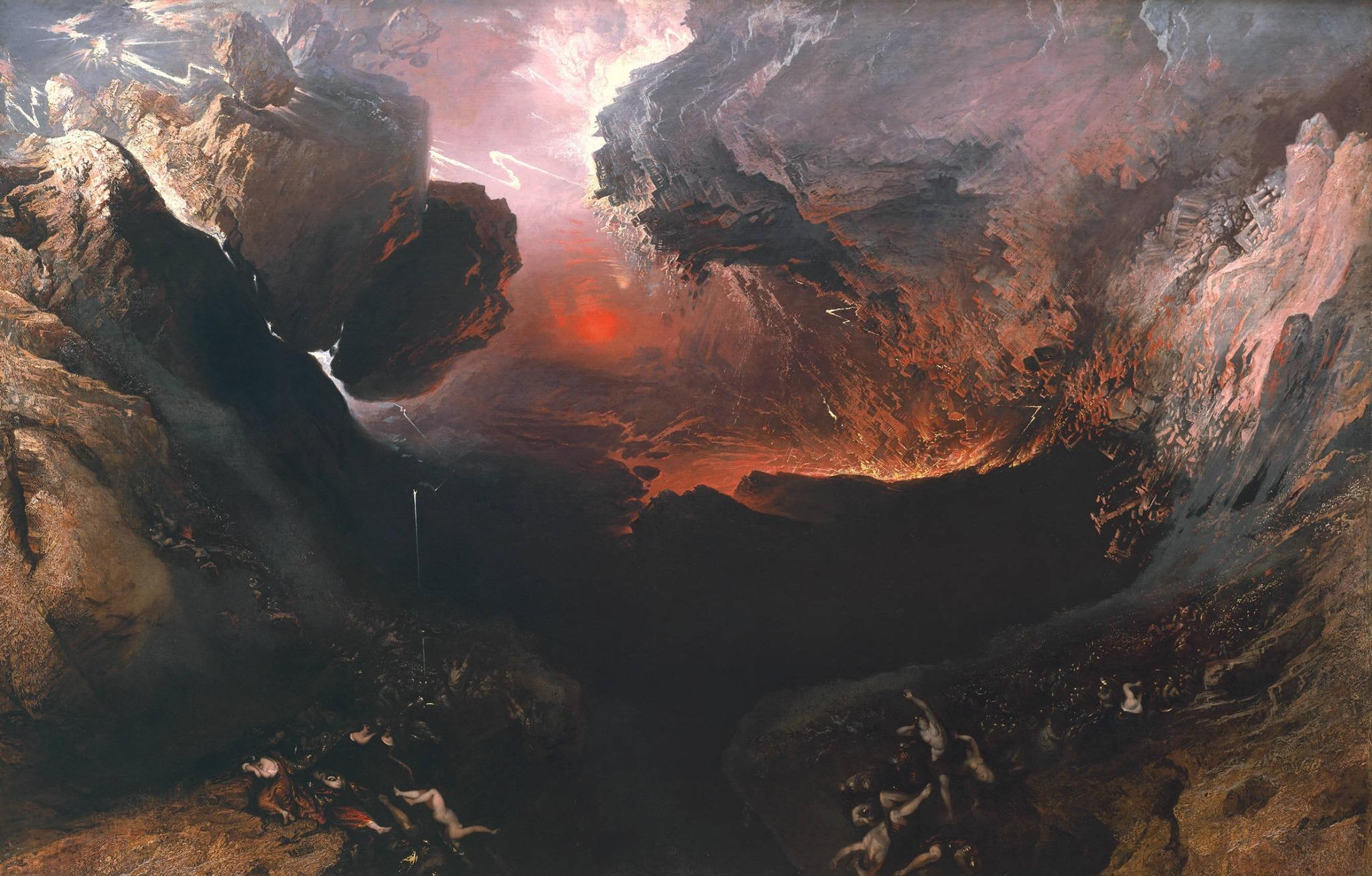 John Martin - The Great Day of His Wrath (1853) http://t.co/MfPZzTrhUK