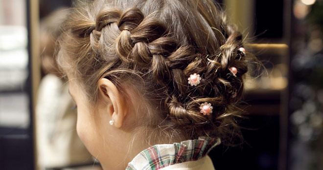 Peinados Para Ninas Recogidos Y Trenzas De Fiesta Paso A Paso