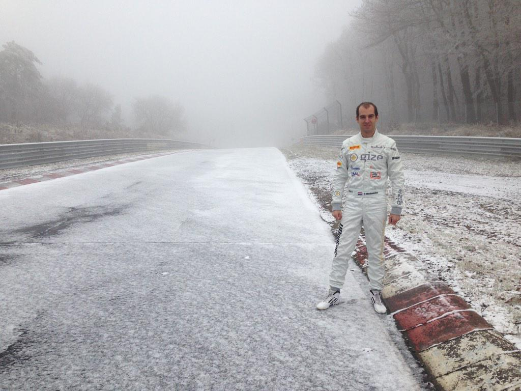 A very white Nurburgring Nordschleife today! http://t.co/alHna3660Q