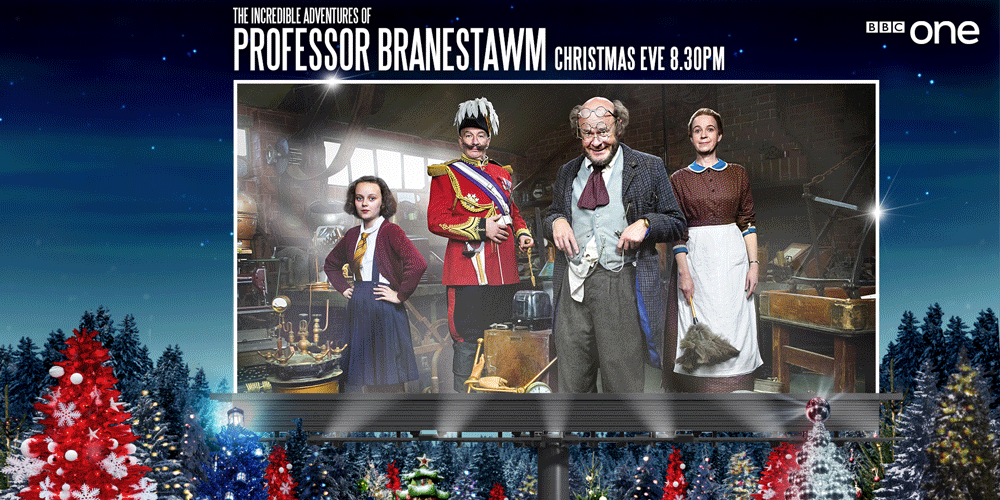 harry hill leads an all star cast in charlie higsons adaptation of professorbranestawm - All About Christmas Eve Cast