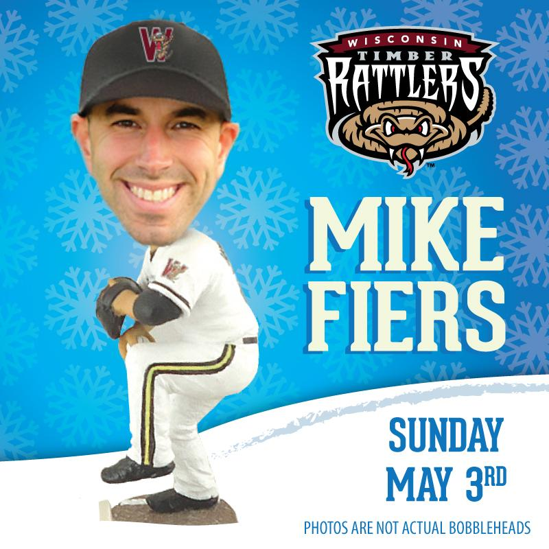 Bobblehead #3 - Mike Fiers -  RT this post for a chance to win tickets to the May 3rd game! http://t.co/FdRw1pjjsw http://t.co/aQARqih5Se