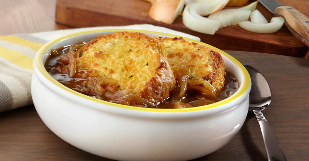 With just a handful of ingredients, you can have Speedy French Onion Soup ready in 30 mins: http://t.co/ihx7K9eWhw http://t.co/K4tS7z1DQC