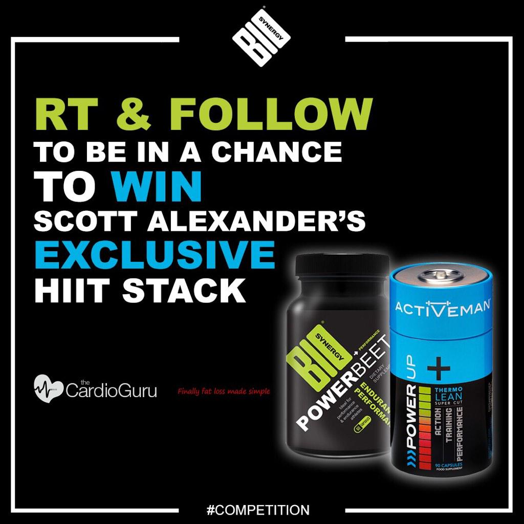 Get RT guys for a  chance to win my @Biosynergy HIIT stack ! #ElectTheCorrectEnergyAsTrainingFuel http://t.co/9RkSxoWg4b