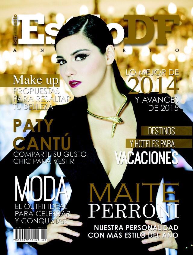 Con ustedes... La portada del #AnuarioEstiloDF 2014 con Maite Perroni (@MaiteOficial) @EstiloDF ---> http://t.co/T0v70I2reh