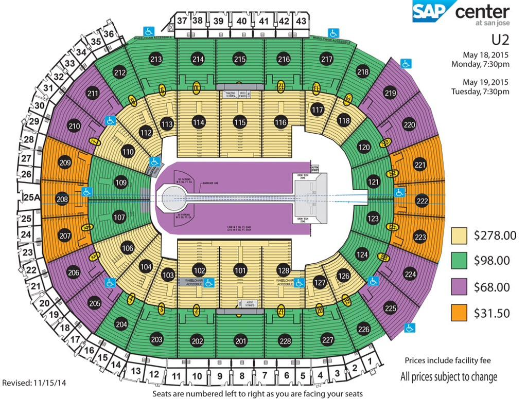 More detailed seat chart with pricing info for U2s innocence and Experience tour #U2ieTOUR http://t.co/fOS2dtv75P