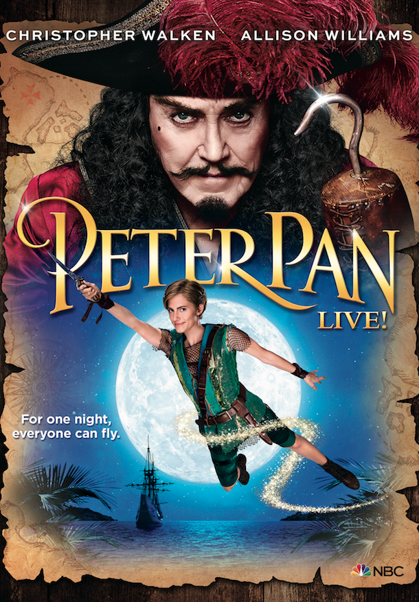 NBC's #PeterPanLive will be on DVD in just 2 weeks! Order this perfect holiday gift today >  http://t.co/4XnTn1DgA7 http://t.co/1bU4FSqt9U