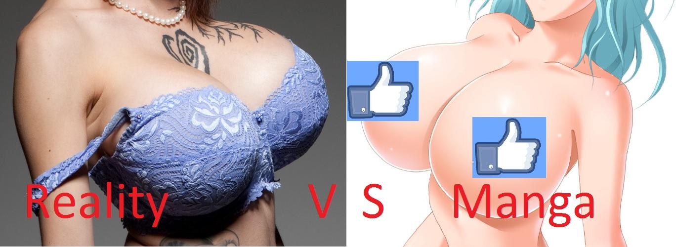 Which one do you prefer? #Reality or #manga? http://t.co/QiY2xtXPGI #bigtits #Cartoon #unrealproportions