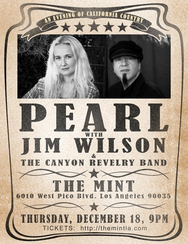 Updated flyer! PEARL&JIM LIVE @MintLA !!! 12/18 9pm @JimWilson45 @Scott_Ian @joey_vera @ryanmacmillan @fredmandel http://t.co/1fVIRO3RCN