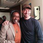 With the phenomenally talented Tony Award winner @BenVereen backstage @TheRiverPlay