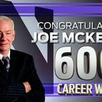 With tonight's 72-54 @nuwbball win over Kent State, #B1GCats head coach Joe McKeown has won his 600th career game! http://t.co/nQt4V2w3Cf