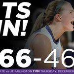 CATS WIN! #KStateWBB beats Hampton 66-46. The Cats head to Mexico next week for the Hardwood Tournament of Hope. http://t.co/oOweDhSngh