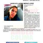 Difunde por favor #AlertaAmber vía @AAMBER_col:  ANGELICA JAZMIN MERAZ LOPEZ  #Manzanillo, #Colima. Padece epilepsia http://t.co/sYhSGnhQzq