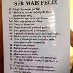 20 sugestões para ser mais feliz http://t.co/cfcpgTsaGU
