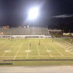 View from high atop press box at Denison Stadium in Winter Haven. South Fort Myers (9-2) at Winter Haven http://t.co/87yQGOhYOX