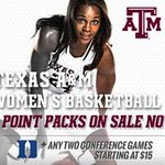 See us take on Duke + 2 SEC opponents for just $15! Can we get a whoop?! Tickets: http://t.co/HbZjU5rTkI #12thman http://t.co/Y4ixviyYfm