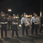 Another day of tension #Ferguson With grand jury decision possible any day now @NBCNightlyNews more calls for calm http://t.co/rgY1iZvrcS