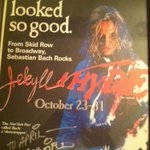 RT @April_Showers75: Flashback friday. @sebastianbach cant wait to see ya next month in NC & GA, freak! m/  2.5 yrs is too long. http://t.…