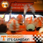 The clock strikes MIDNIGHT! That means it's GAMEDAY! #GoVols #BeatMizzou http://t.co/FYqFKNAdvk