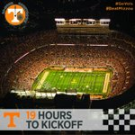 19 Hours To Kickoff: #Vols have had crowds of 100,000-plus for 19 seasons in a row, the 2nd-longest in NCAA history http://t.co/7ZK5P7gC4b