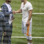 Sign of the Apocalypse: Tim Tebow spotted wearing Tennessee shorts (via @Vol_Photos) http://t.co/0vYqK3Z46l