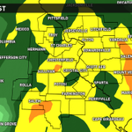 Future radar is SOGGY for much of Sunday. Details at http://t.co/r3mzO0G2g0 #StLouis #stlwx http://t.co/hURjoKGniN