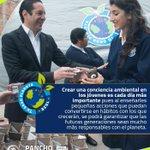 Es labor de todos transmitir a nuestros niños y jóvenes queretanos la importancia de cuidar el medio ambiente. http://t.co/4m9HjrdmSH