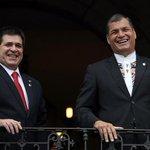 [GALERIA] Visita oficial Presidente de #Paraguay al #Ecuador -->http://t.co/yACBummP83 http://t.co/wTdJToqt7H