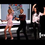 RT @ENews: Tune in tonight to @ENews   @JessieJ teaches @GiulianaRancic & @TerrenceJ her Bang Bang dance moves. Who did it best?