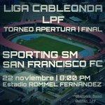 Mañana PREVIA #finalLPF @sportingsm @SanFraFC en HATTRICK (11-1 @MaximaPanama 91.7) @BarraAcademica @BarraEscarlata http://t.co/SU5Skmdx2I