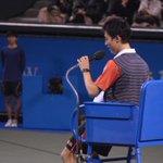 【ドリームテニスARIAKE】 錦織vsアガシ 夢の対決後、錦織選手の提案により急きょ決定!松岡修造vsアンドレ・アガシ!審判は錦織が務めます! ⇒http://t.co/FoQK3kfMAv #wowow #tennis #錦織圭 http://t.co/cAXyIYtq1g