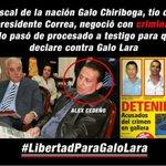 #Correa con su primo #GaloChiriboga utilizaron a un criminal para acusarme. LO PRUEBO @fernandobalda @CarlosVerareal http://t.co/XVv4NVzdKy